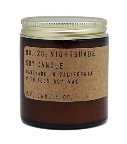 P.F. Candle Co. P.F. Vela Co. Nightshade de Soja Vela 3,5oz