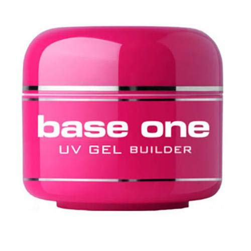 Silcare - Gel UV Monofasico Thick Violet 3in1 ad alta densità con filtro antingiallimento - Ricostruzione unghie, allungamenti anche estremi, coperture e refill. Non scotta e non cola - Formato 50g