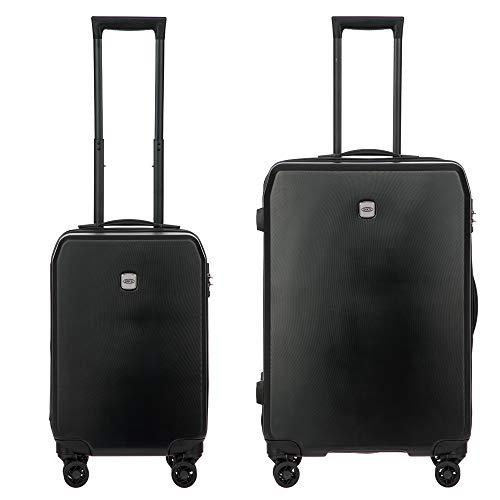 Bric's Menaggio Spinners (Black, 2-piece Set (21'/28'))