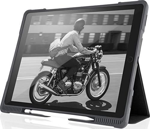 STM Dux Plus 12.9' Funda Negro - Fundas para Tablets (Funda, Apple, iPad Pro, 32,8 cm (12.9'), 570 g, Negro)