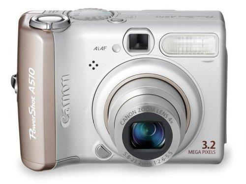 Canon PowerShot A510 Digitalkamera (3 Megapixel, 4fach Zoom)