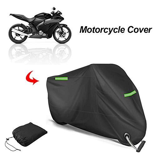 Sunnyushine - Funda protectora para motocicleta de 96,5 pulgadas