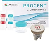 Menicon Progent Biweekly Contact Lens Cleaner and Progent Large Diameter (Scleral) Lens Case, Bundle of 2 Items