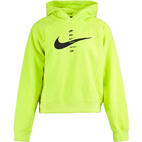 Nike Swoosh - Sudadera con capucha para mujer