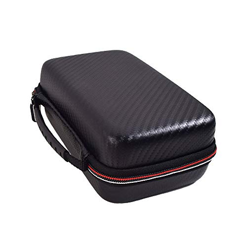 Cocar Carrying Case for Mini Projector & All Accessories 2020 New Upgrade Thickened Hard Shell Protection Larger Capacity Suitable for TOUMEI COCAR AEHR Yaufey VANKYO C800S C800W C800A C800 Black