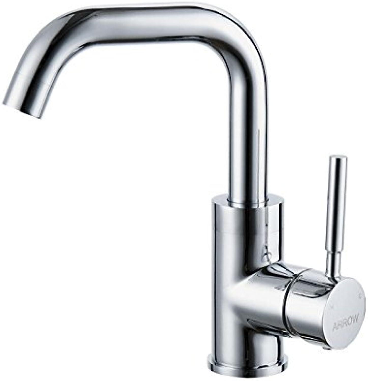 Lalaky Waschtischarmaturen Wasserhahn Waschbecken Spültisch Küchenarmatur Spültischarmatur Spülbecken Mischbatterie Waschtischarmatur Einhand-Loch