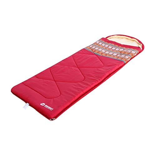 Zhhlinyuan Moisture Resistant Sac de Couchage - Folk-Custom Splicable Adulte Chaud Sacs de Couchage pour Voyager De Plein air Camping