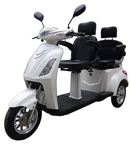 Elektromobil VITA CARE 2000 Seniorenmobil Senioren-Scooter mit Straßenzulassung E-Scooter E-Roller Produktvideo, Weiß