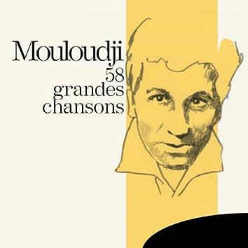 Mouloudji : 58 grandes chansons