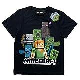 MINECRAFT Camiseta para chicos de manga corta original Modelo: 1. 8 Años