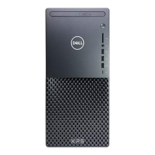 2021 Latest Dell XPS 8940 Desktop PC - 11th Gen Intel Core i7-11700 up to 4.9GHz CPU, 32GB RAM, 512GB SSD + 4TB HDD, Intel UHD Graphics 750, Killer Wi-Fi 6, 500W PSU, DVD-RW, Wireless Mouse, Windows10
