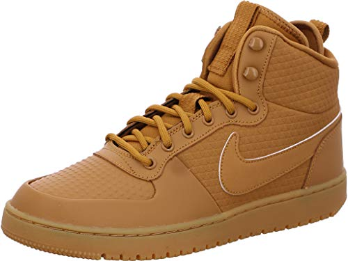 Nike Court Borough Mid, color marrón claro, talla 71- 2