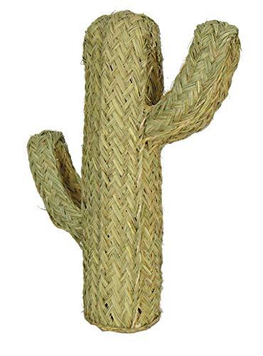 Rustiluz Cactus para decoración de Esparto de 70 cm...