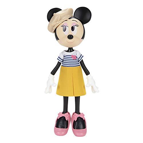 Disney Minnie Mouse 214174 Minnie Classic Chic Puppe, blau