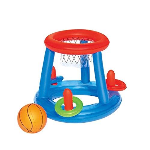 YLJYJ Colchones de Aire Flotadores para Piscina, Juguetes inflables para la Playa - Piscina para Padres e Hijos para niños - Voleibol Inflable (Espejo)