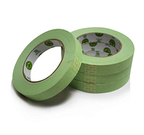 """Insta Finish Automotive Masking Tape 48 Rolls - Green Auto Masking Tape for Industrial and Commercial Use - Easy Stick and Release Automotive Paint Tape - Masking Paper Painting Tape - .75"""" Tape Photo #8"""