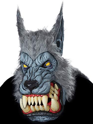 California Costumes Riesige Werwolf-Maske für Halloween grau