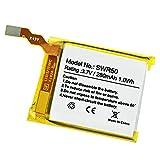 Backupower Batería de repuesto compatible con Sony SmartWatch 3, SWR50, Sony GB-S10, GB-S10-353235-0100 (3,8 V, 420 mAh)