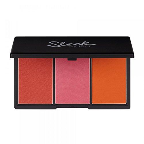 Sleek Maquillage Rougeur By 3 - L'ultime Palette De Fard À Joues - Dentelle