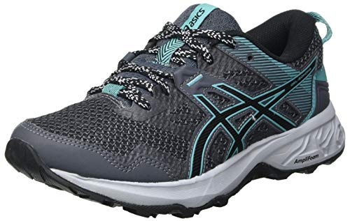 Asics 1012A568 022, Running Shoe Mujer, Carrier Grey/Black, 35.5 EU