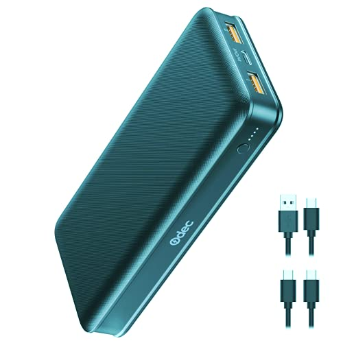 Super Slim Portable Charger, Hame P60 Ultra-Slim 8000mah External Battery Credit Card Mini Pocket Power Bank with 5V2.1A Universal USB Outlet Compatible iPhone, Samsung, LG, Google Pixel, Android
