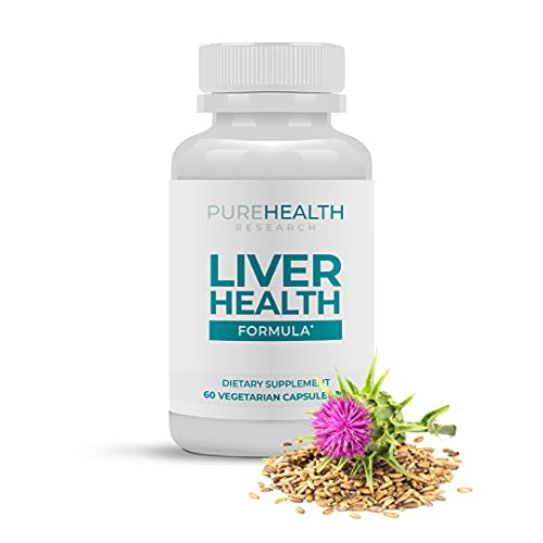 Liver Heath Superstar by Purehealth Research -Impressive for Liver Markers, Oxidative Stress & Metabolic Functions. Fights Free Radicals, Dampens Immunity Markers & Boosts Detox Flush
