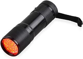 SJZERO Lampe de Poche LED Rouge imagerie veineuse Infrarouge 625nm lumière Rouge 9 détecteur de veine Torche LED pour infi...