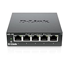 5 port 10/100 fast Ethernet ports Plug n Play installation 802.1P quality of Service support for superior traffic prioritization High reliability with rugged metal case Fast Ethernet solution for SOHO, small, and medium businesses Auto MDI/MDIX cross...