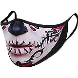 SMMASH Premium Design Mundschutz Maske Wiederverwendbar, Hochwertiges Gesichtsmaske Waschbar, Hergestellt in der Europäischen Union, Staubschutzmaske für Damen, Herren (S/M)