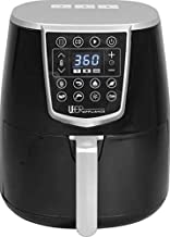 Uber Appliance Air Fryer XL -  High Power Oven Kitchen Appliances-Best Seller Large Air Fryer 5 Qt Digital Display with 8 Pre-Set Functions, 5 quart, Black