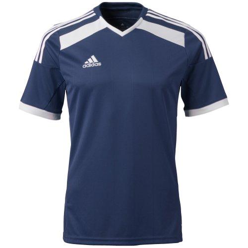 Adidas Big Boys Climacool Regista 14 - Camiseta de fútbol - F50224-YS, S, Azul marino, Blanco