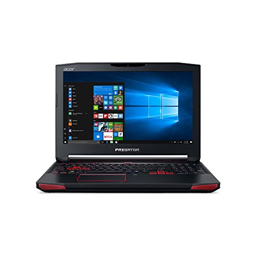 "Acer Predator 15 Gaming Laptop, Core i7, GeForce GTX 1070, 15.6"" Full HD G-SYNC, 16GB DDR4, 256GB SSD, 1TB HDD, G9-593-71EH"