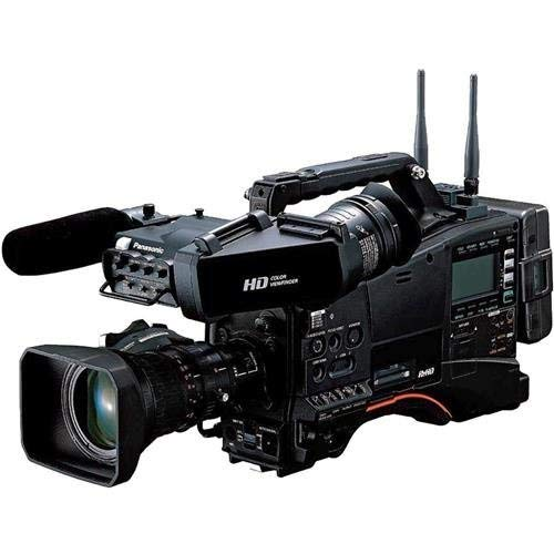 Check Out This Panasonic AJ-PX380G Shoulder-Mount Camcorder with AG-CVF15 Viewfinder and XT17x4.5 BR...