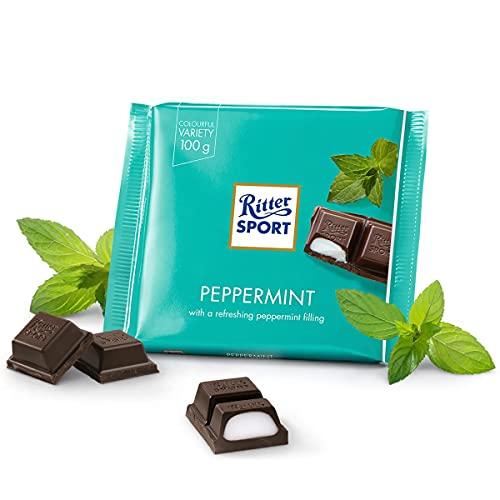 Ritter Sport Cioccolato Fondente,Peppermint, 100g