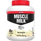 Muscle Milk Genuine Protein Powder, Cookies 'N Crème, 32g Protein, 4.94 Pound, 32 Servings