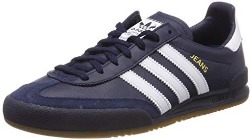 adidas Jeans, Zapatillas de Gimnasia Hombre, Azul (Collegiate Navy/FTWR White/Legend Ink Collegiate Navy/FTWR White/Legend Ink), 36 EU
