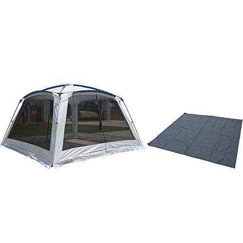 3m Beach Tents Shelters Large,Portable Waterproof Gazebo Garden Camping Gazebos with Sides Sun Shade Shelter for Kids and Adult,B