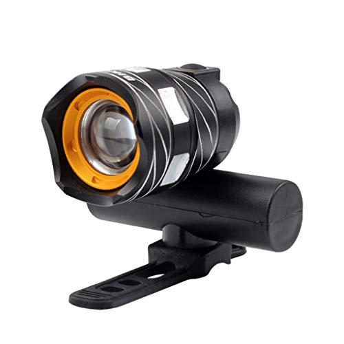 FAPROL Fahrradlicht Mountainbike USB-Aufladung Radfahren Lichter 1200mAh 350 Lumen Wasserdicht Defense Glare 400 Meter Reichweite Black