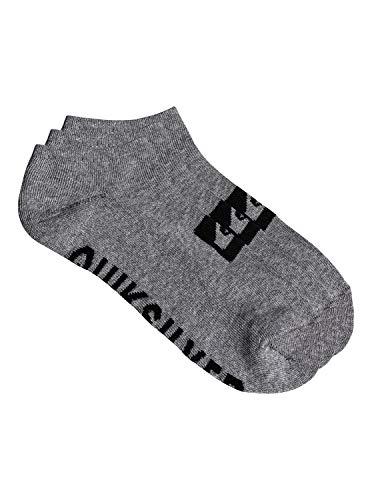 Quiksilver 3 Pack - Ankle Socks - Knöchelsocken - Männer - ONE SIZE - Grau