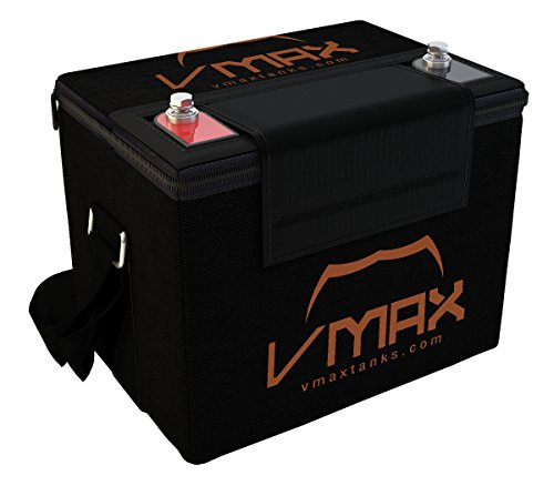 VMAX857 with U1 Carry Case AGM Deep Cycle Group U1 Battery Compatible with Dignified Butler Patriot 12V 35Ah Wheelchair Battery