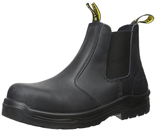 Stanley Men's Dredge Steel Toe Work Boot, Black, 10.5 D...