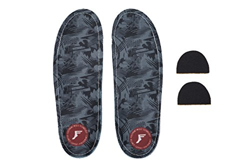 Fußabdruck Innensohle Technologie Custom Orthopädische kingfoam Gamechanger Einlagen Dark Camo Graphic 11/11,5