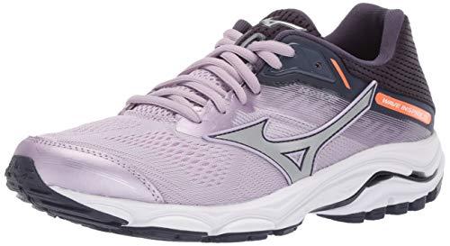 Mizuno Womens' Wave Inspire 15 Running Shoe, Lavender Frost-Silver, 3.5 UK
