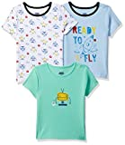 Amazon Brand - Jam & Honey Baby Boy's Starred Regular fit T-Shirt