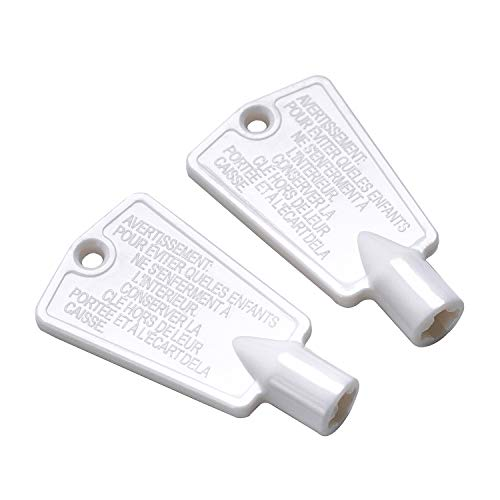 HSTECH 297147700 Freezer Door Key Replacement Exact Fit Compatible with...