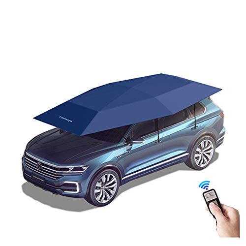 BESTPRVA Auto Automatica Auto Auto Tenda Auto Ombrello Sole Ombra Copertina Tessuto Poliestere Copertura Auto Solo Stoffa