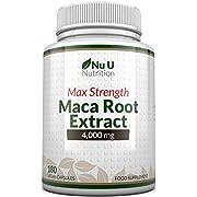 Maca Root Capsules 4000mg - 180 Capsules végétariennes et végétaliennes - 6 mois d'approvisionnement - Racine de Maca Péruvienne de haute puissance - Fabriqué au Royaume-Uni