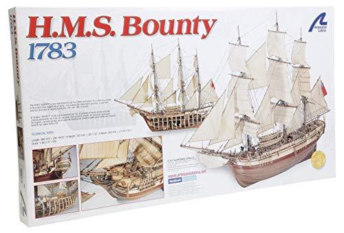 Artesanía Latina 22810. Maqueta de Barco en Madera HMS Bounty 1/48