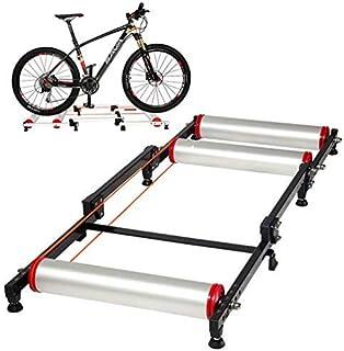 comprar comparacion ROCKBROS Rodillo de Rulos para Bicicleta Entrenamiento Ajustable Plegable para Ciclismo MTB Carretera 16-29 Pulgadas
