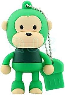 USB Flash Drive USB Flash Disk Memory Stick Thumb Pen USB 2.0 Novelty Silicon Cute Cartoon Animal Series Baby Station Monk...